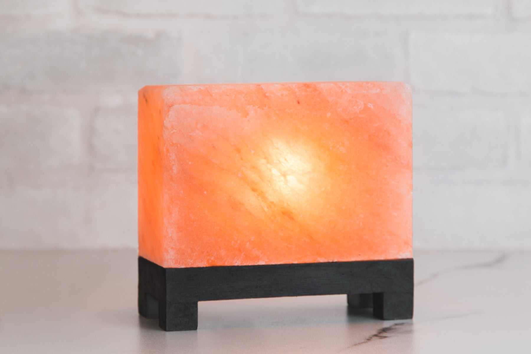 Rectangle Himalayan Rock Salt Lamp - FREE SHIPPING!
