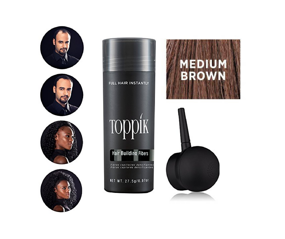 NEW TOPPIK Hair Building Fibers