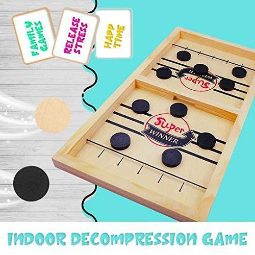 【🔥Buy 2 Free Shipping】Wooden Hockey Game