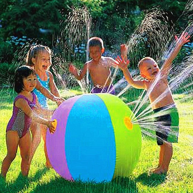 NEW FOR SUMMER! Inflatable Spray Water Ball