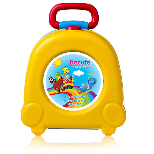Portable Cute Cartoon Baby  Training Toilet For Kids