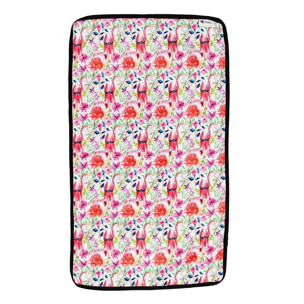 Floral Federation Change Mat Nappies Designer Bums
