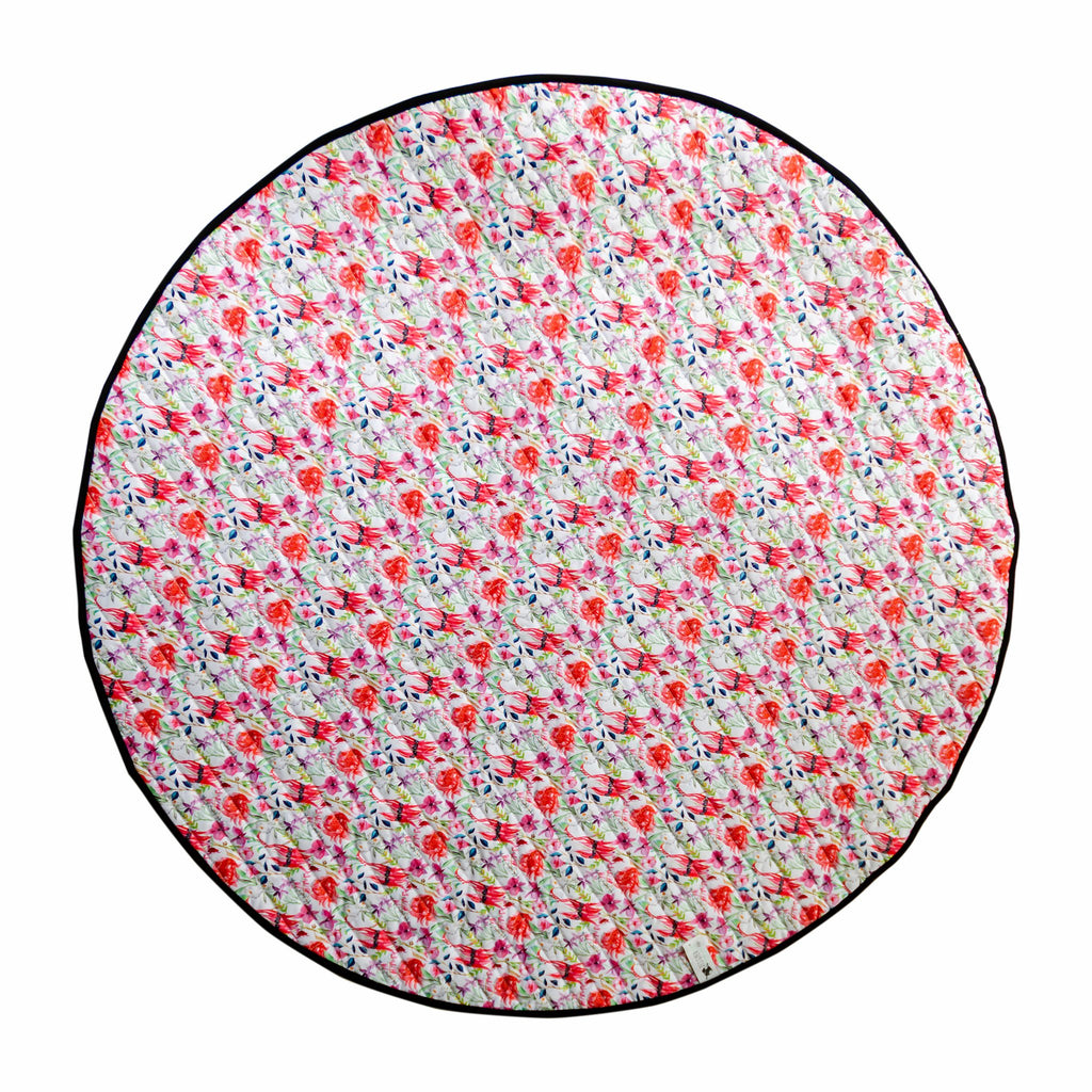 Floral Federation Play Mat Nappies Designer Bums
