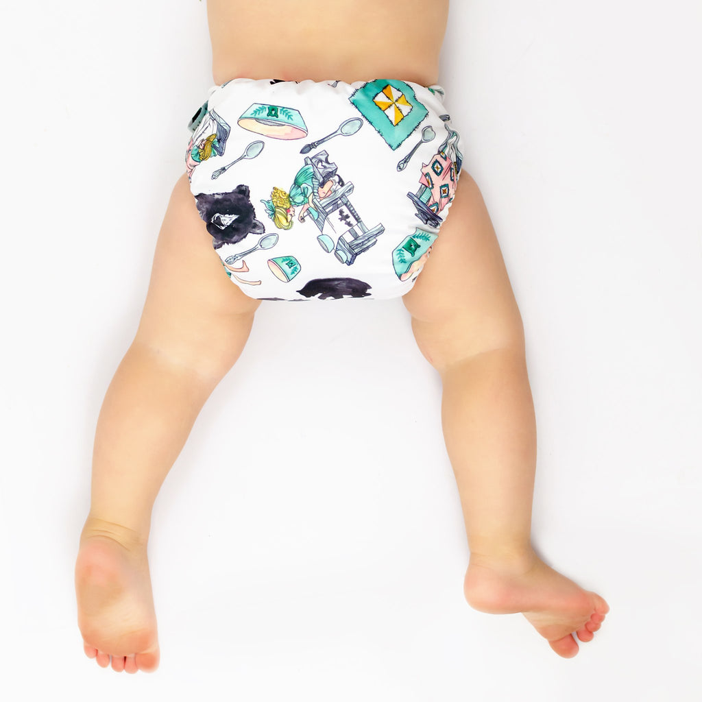Goldilocks Cloth Nappy Nappies Designer Bums