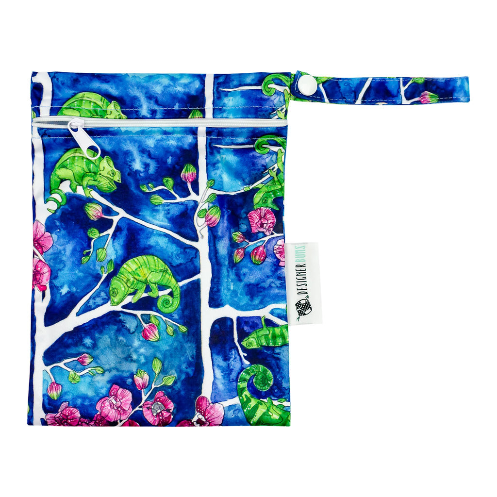 Karma Chameleon Mini Wet Bag Nappies Designer Bums