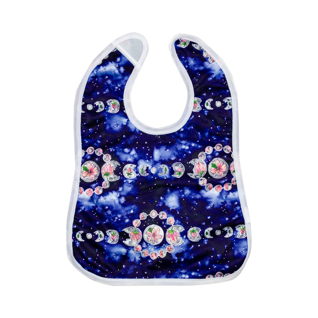 Moonflower Bib