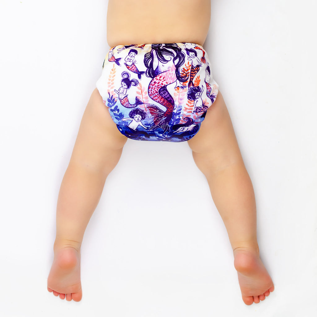 Mother Mermaid ART POP AI2 Nappy