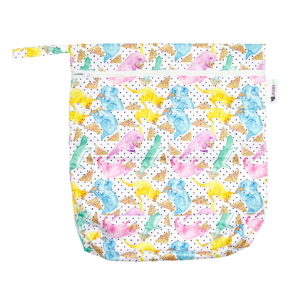 Party Animals Wet Bag Nappies Designer Bums