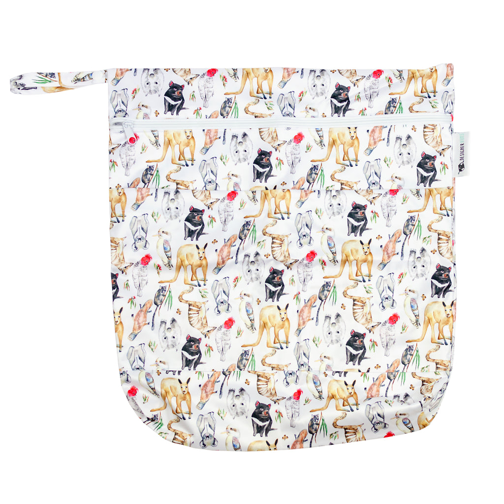 State Fauna Wet Bag Nappies Designer Bums