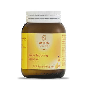 Weleda Baby Teething Powder 60g Nappies Designer Bums