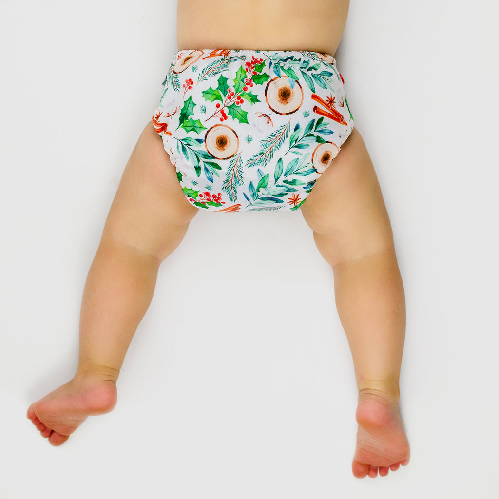 Yuletide - SHELL ONLY Nappies Designer Bums