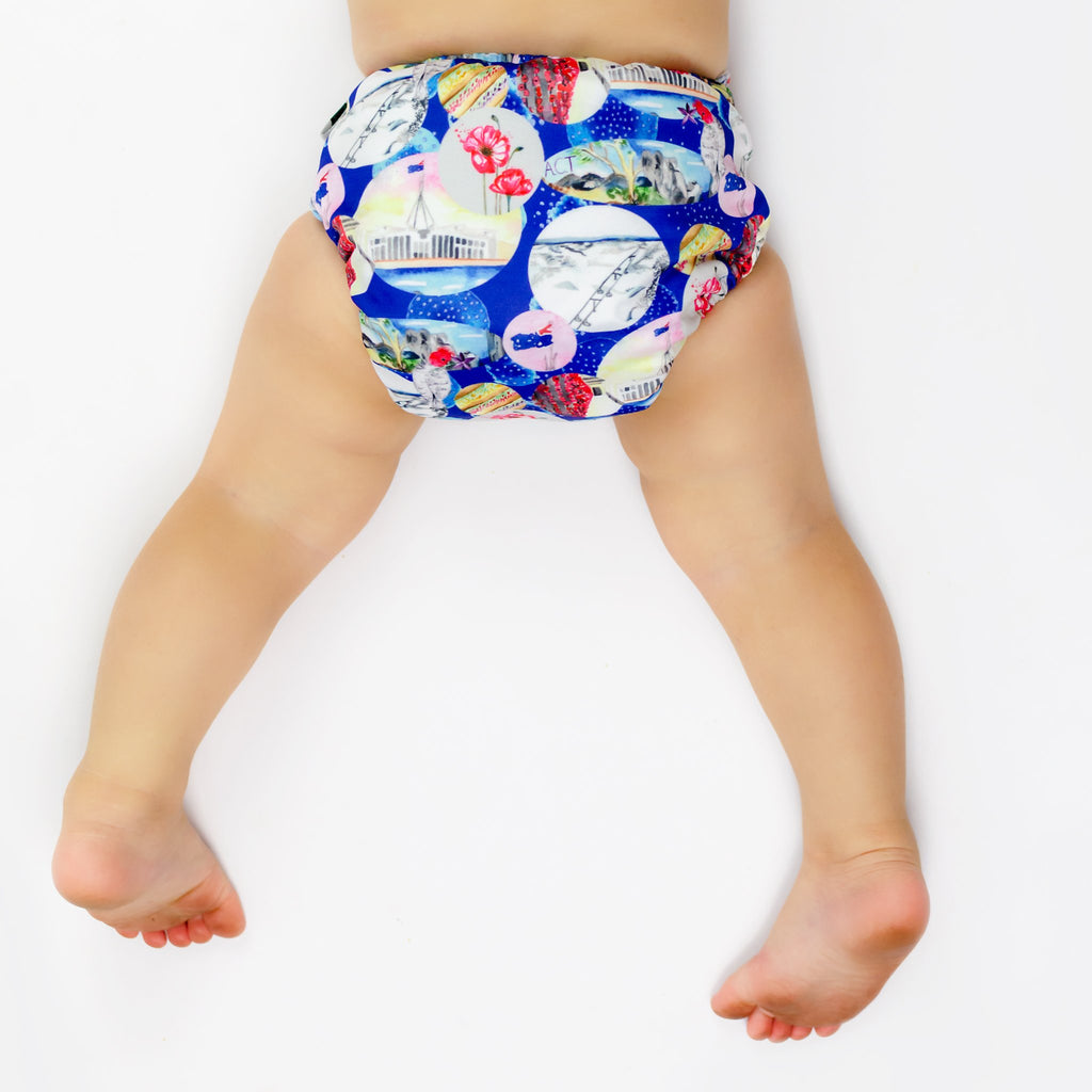 ACT Cloth Nappy Nappies Designer Bums
