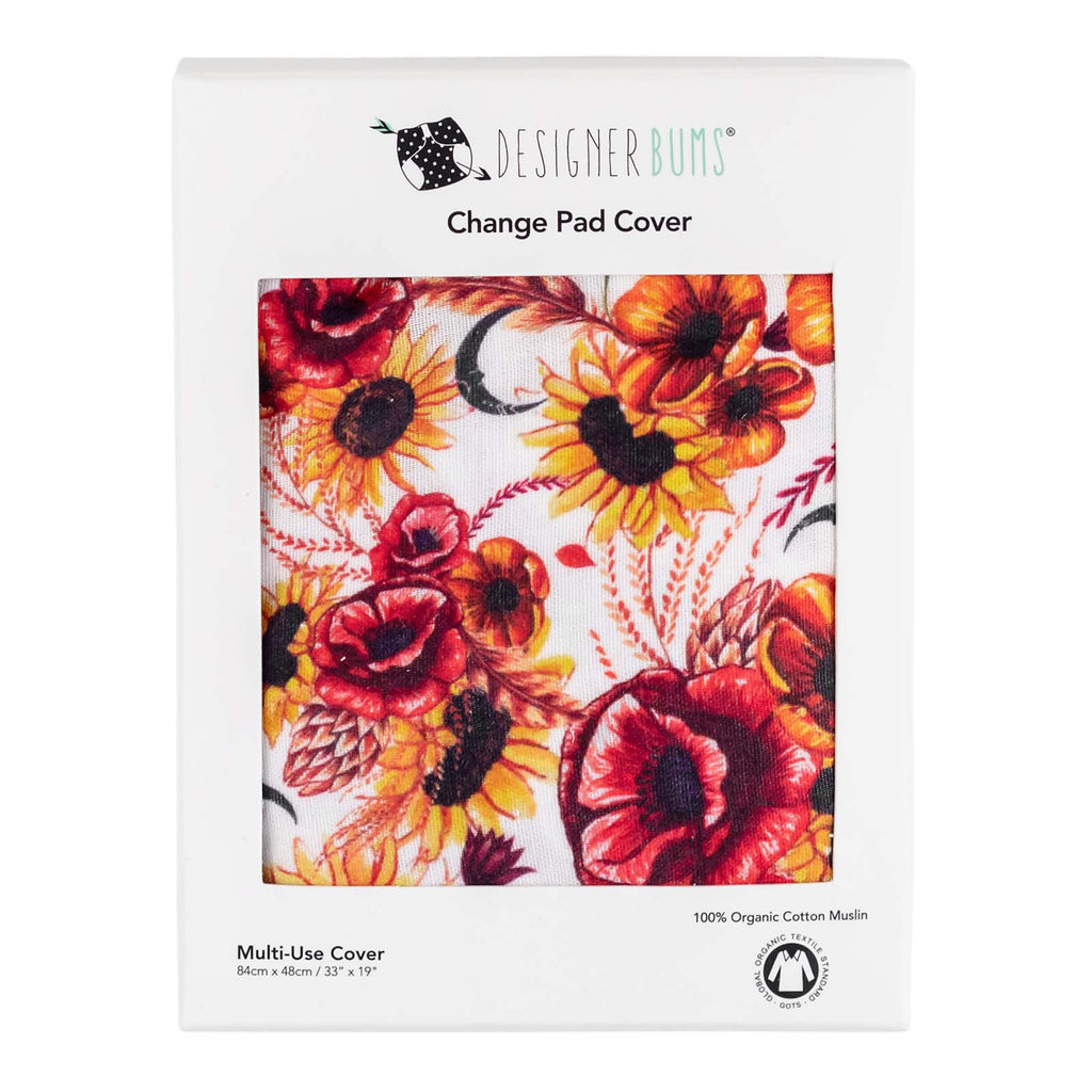 Autumn Harvest Change Pad Cover
