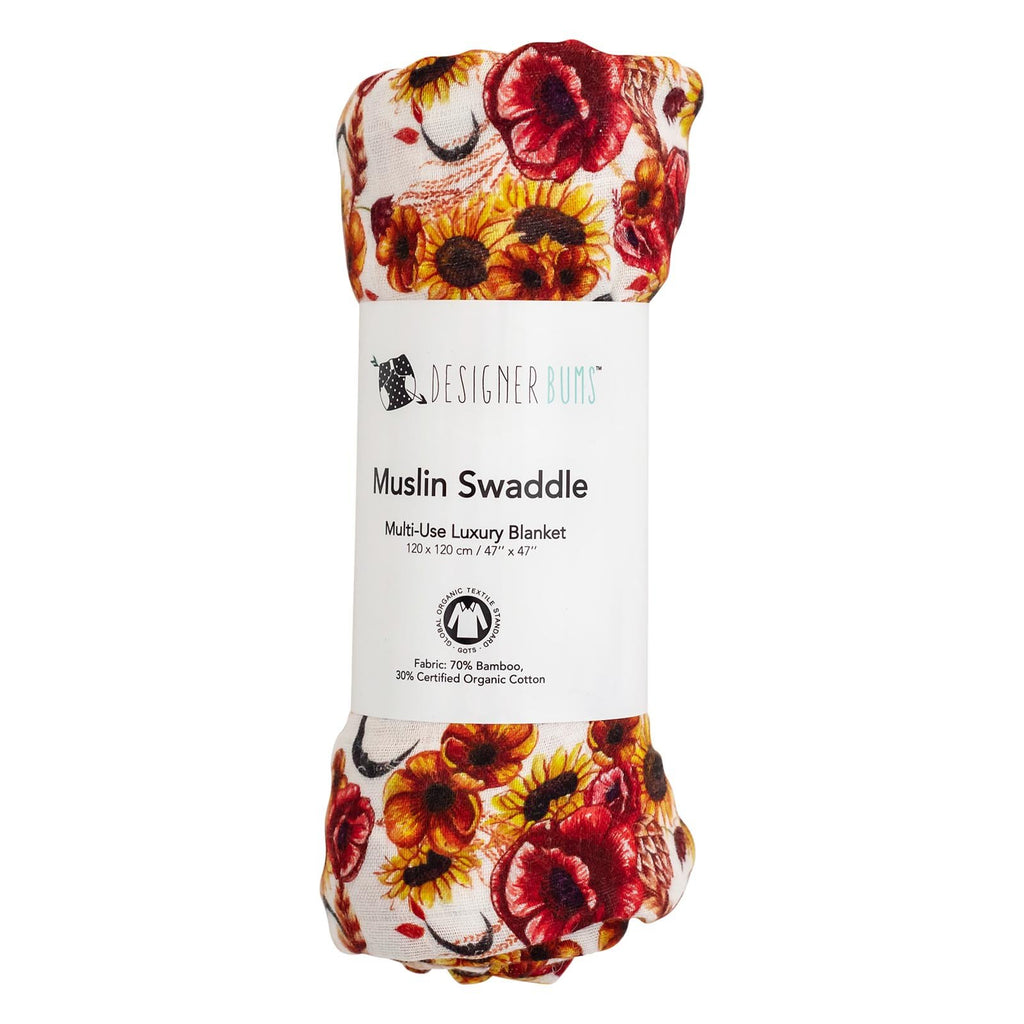Autumn Harvest Swaddle