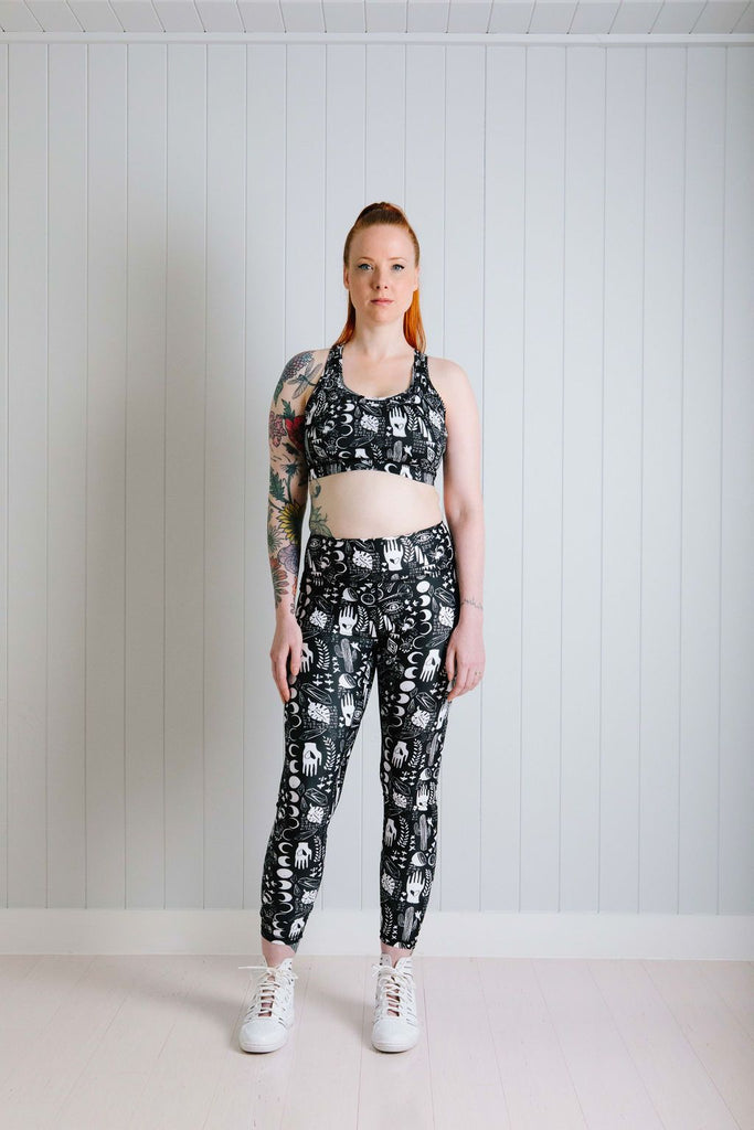 Black Alchemy Leggings