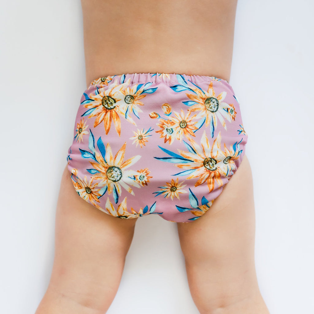 Byron Bay Swim Velcro Nappies Designer Bums