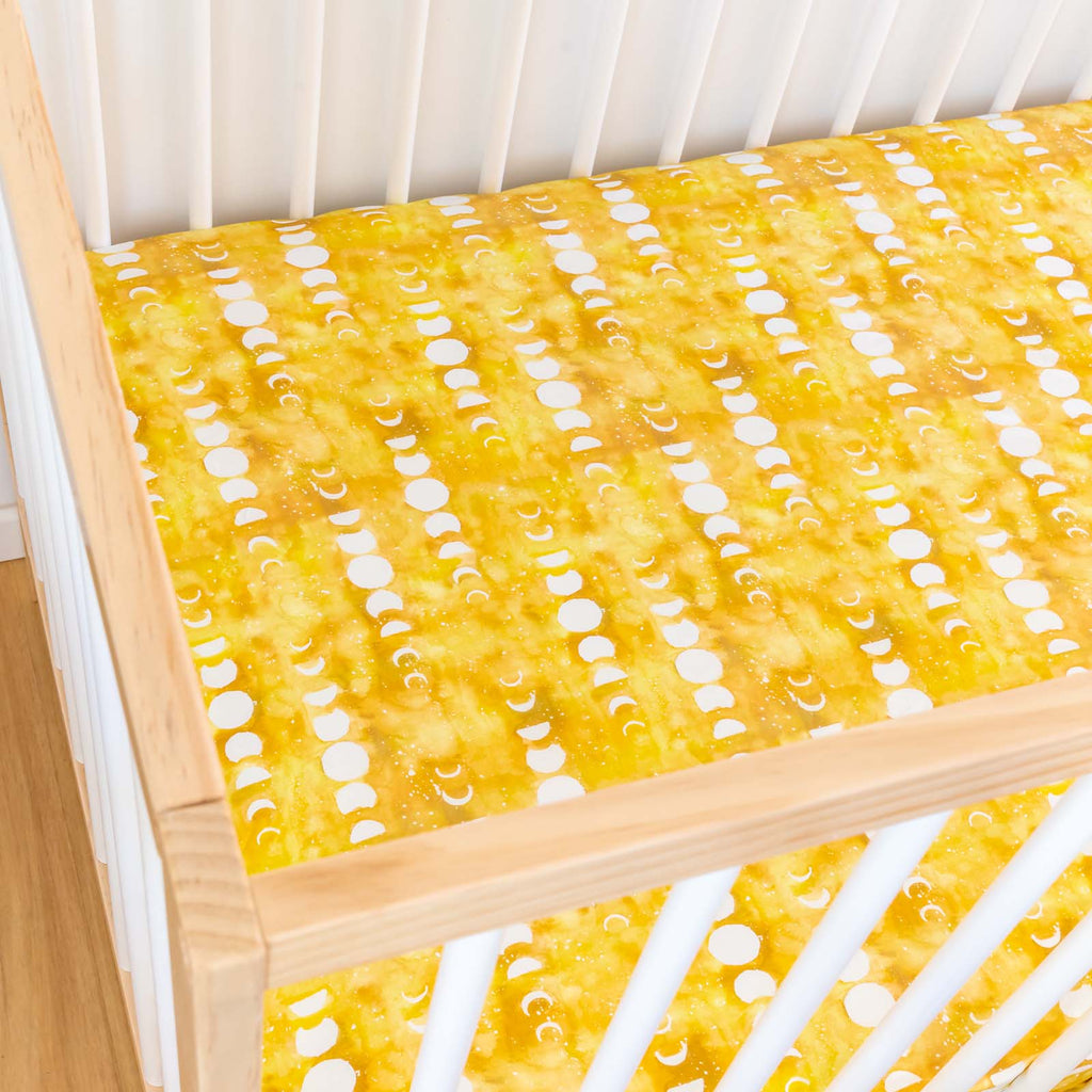 Citrine Moon Cot Sheet
