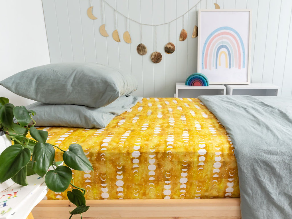 Citrine Moon Single Bed Sheet