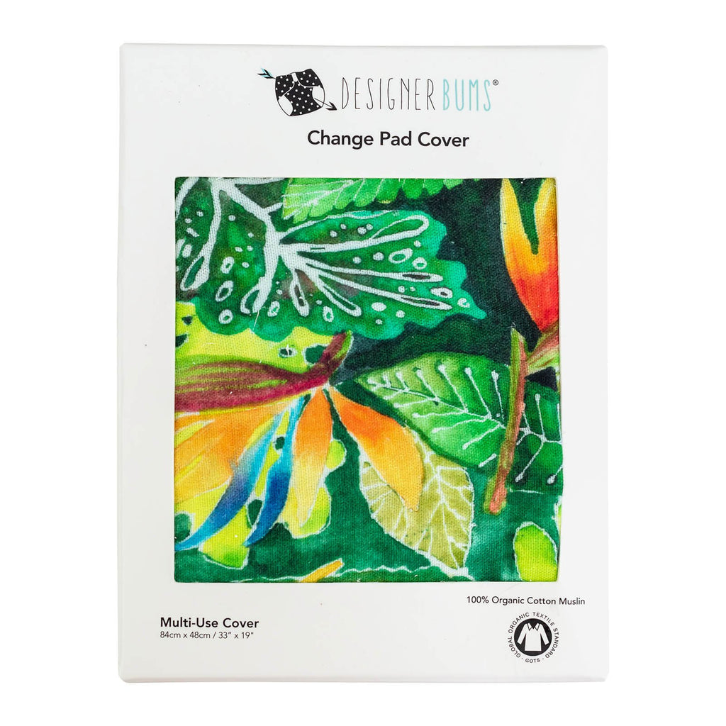 Daintree Rainforest Change Pad Cover