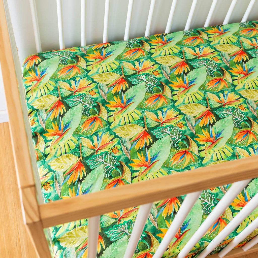 Daintree Rainforest Cot Sheets