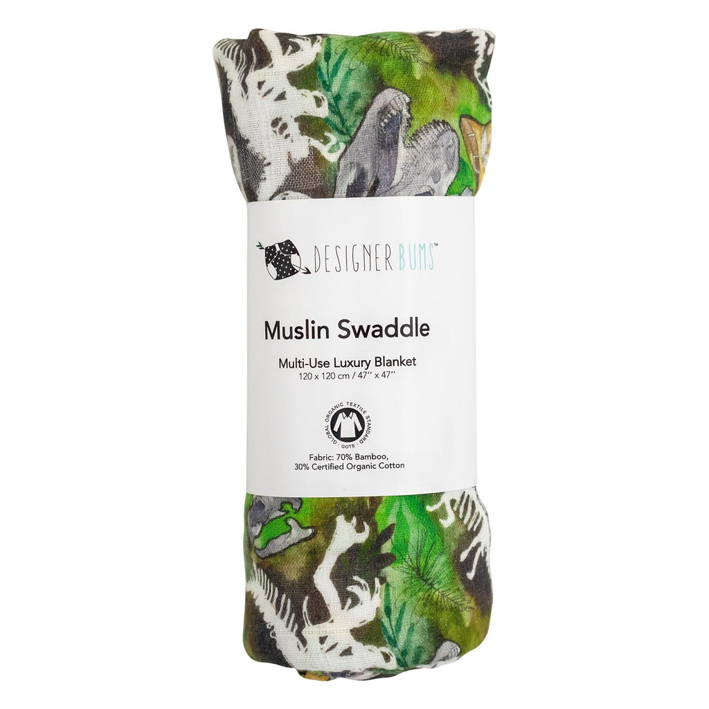Dino Safari Swaddle