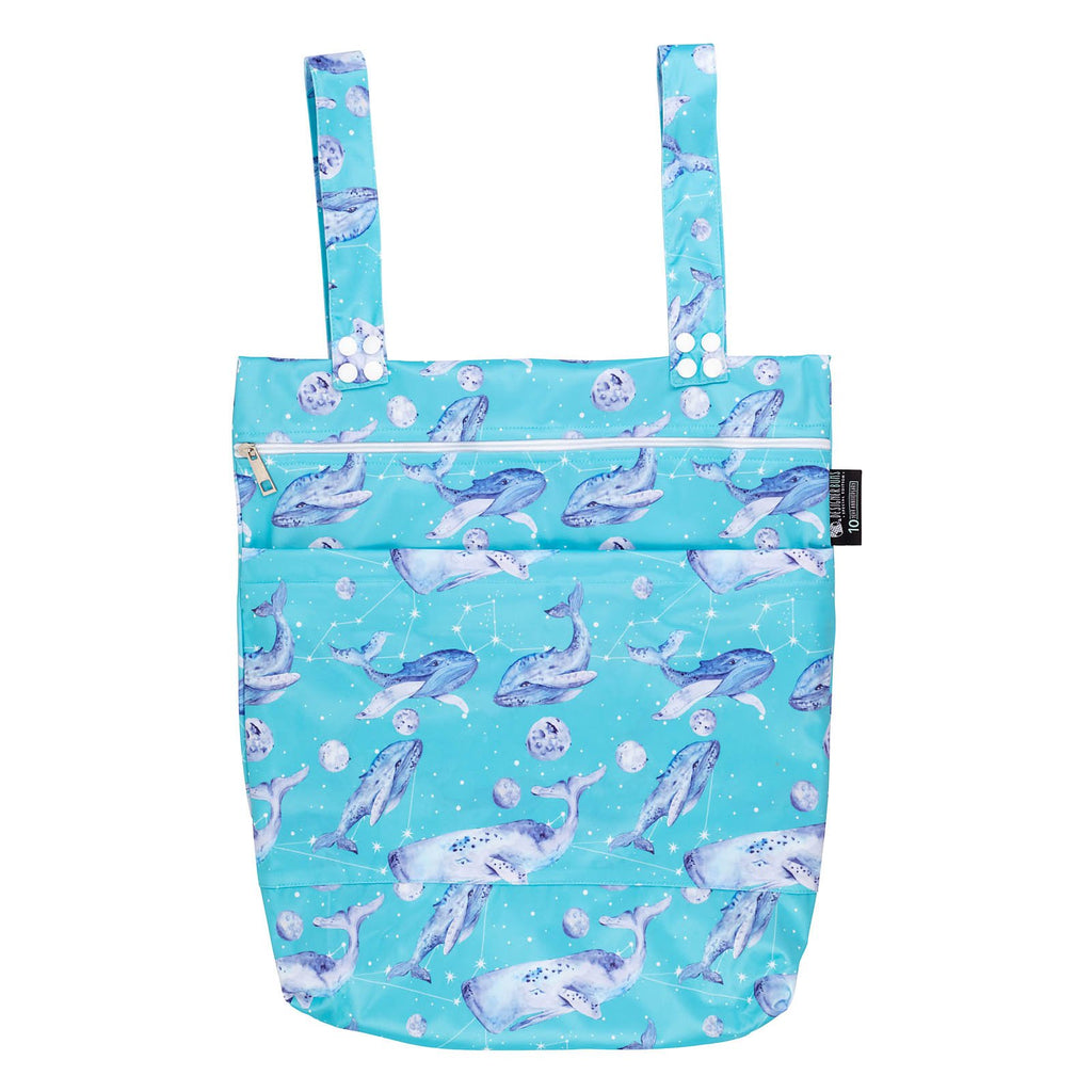 Ethereal Whales Wet Bag