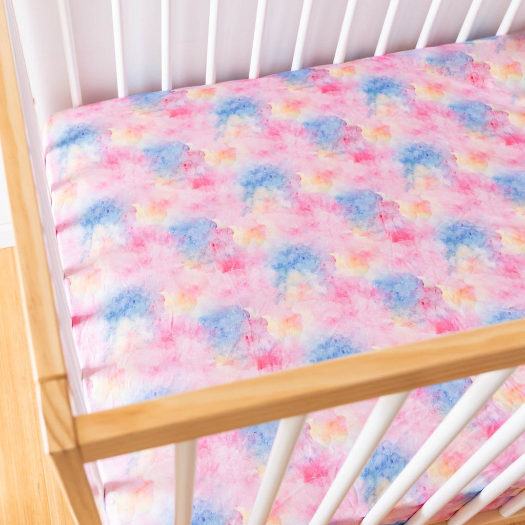 Fairy Floss Cot Sheets
