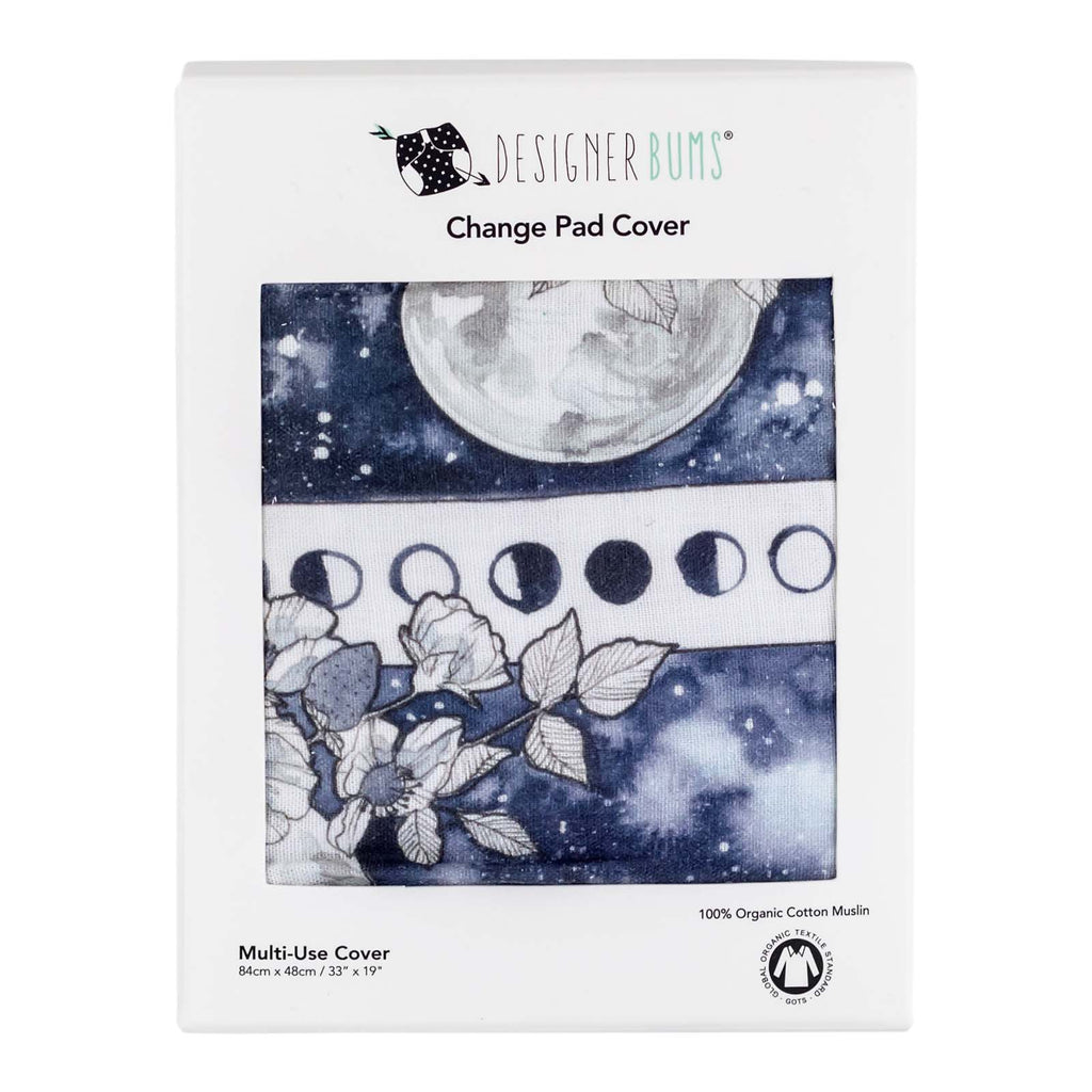 Flower Moon Change Pad Cover