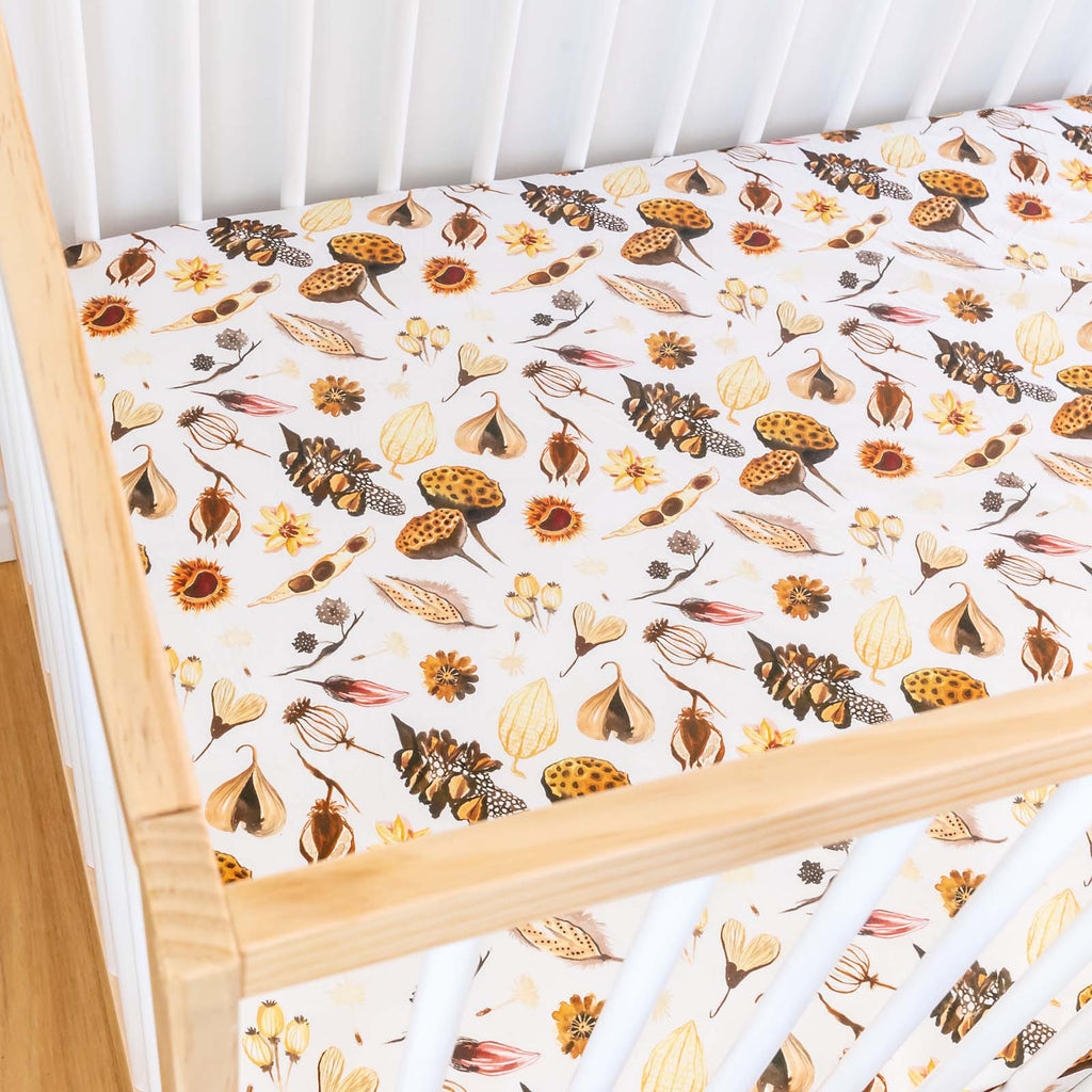 Forest Floor Cot Sheet