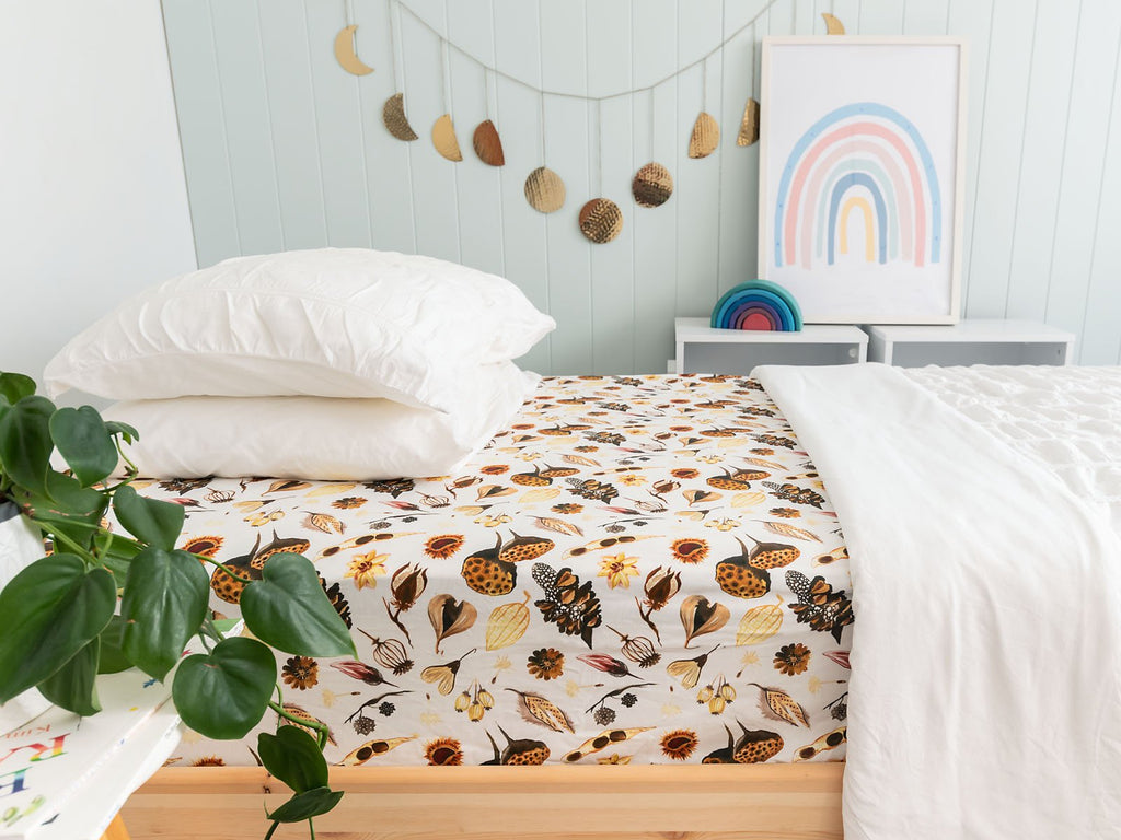 Forest Floor Single Bed Sheet