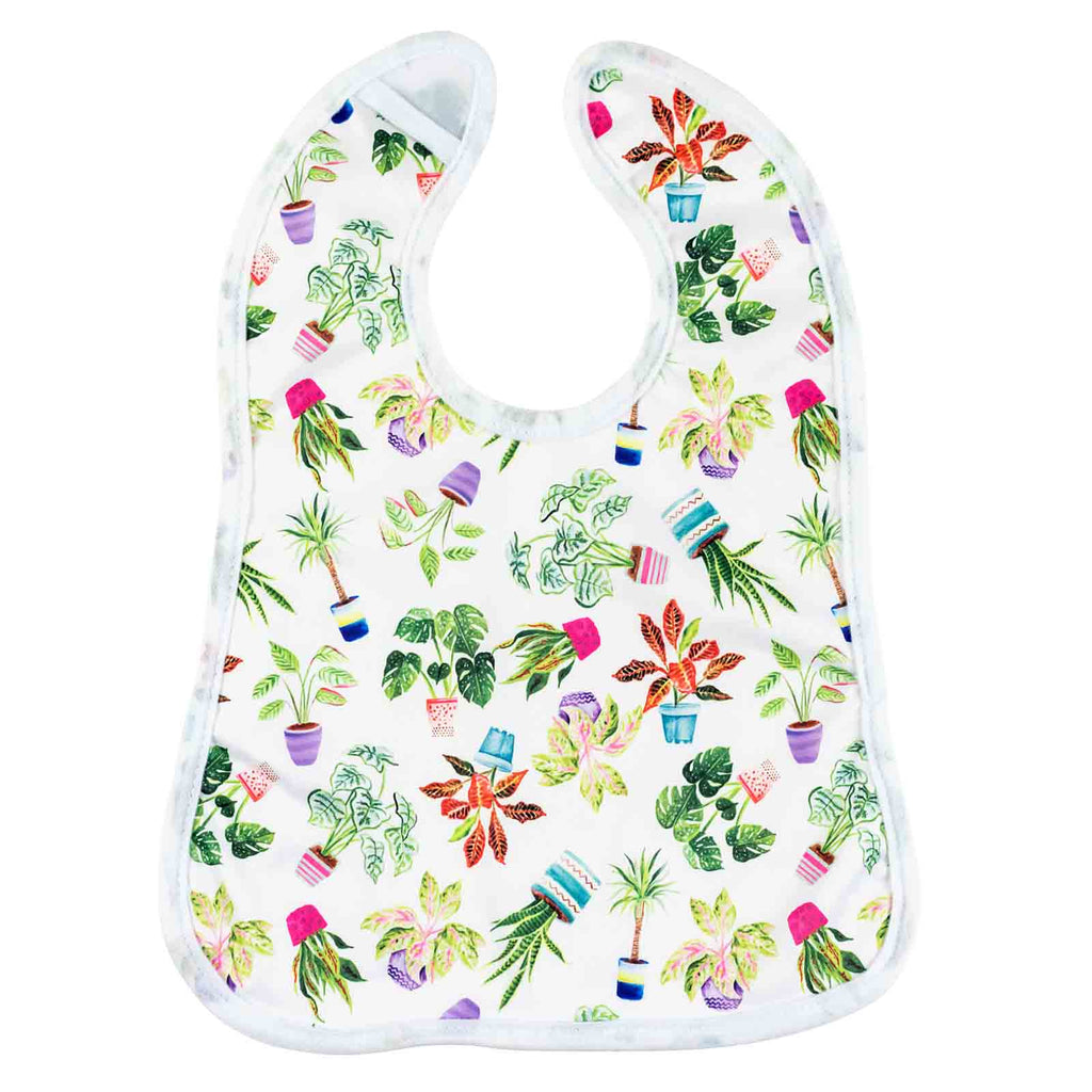 House Plants Bib