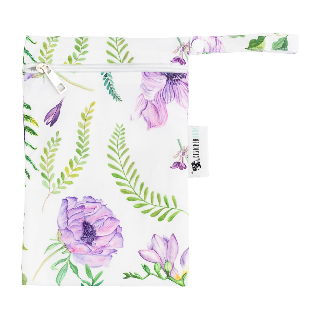 Lilac Meadow Mini Wet Bag