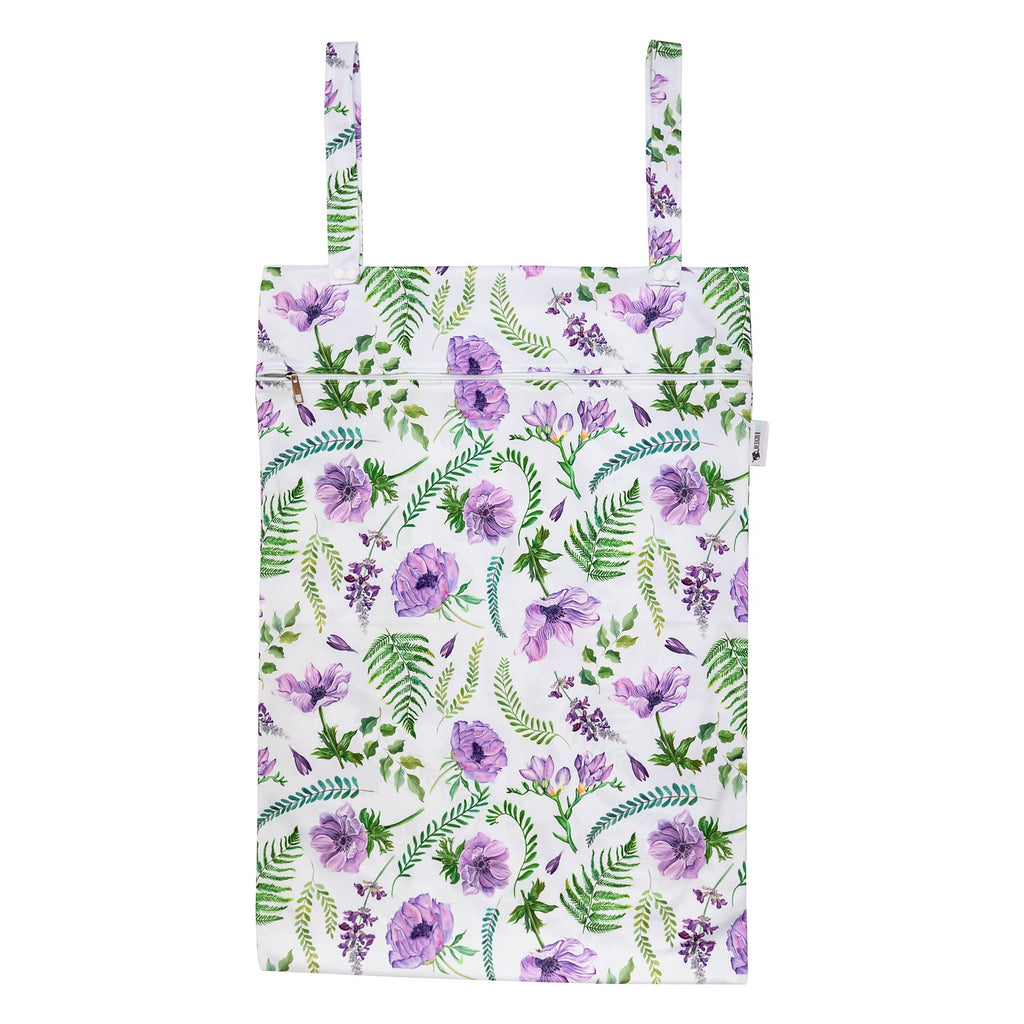Lilac Meadow XL Wet Bag