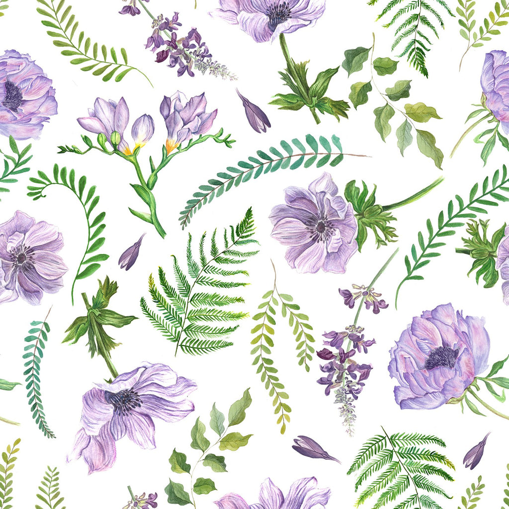 Lilac Meadow Change Mat Nappies Designer Bums
