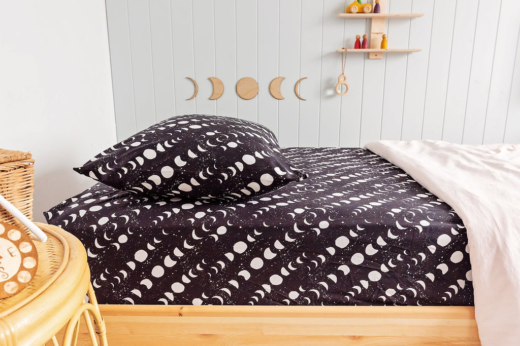 Midnight Moons Pillow Cover