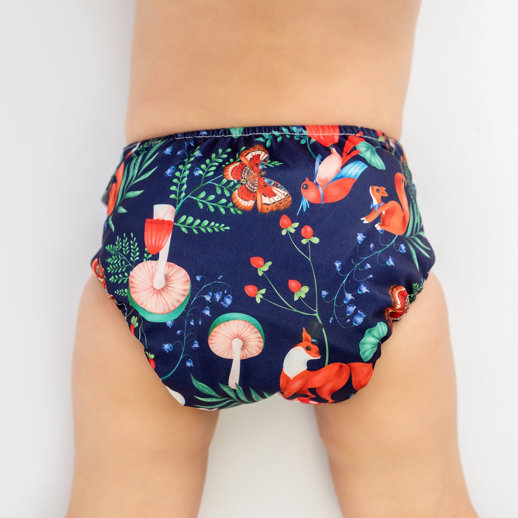 Midsummer Social Cloth Nappy Nappies Designer Bums