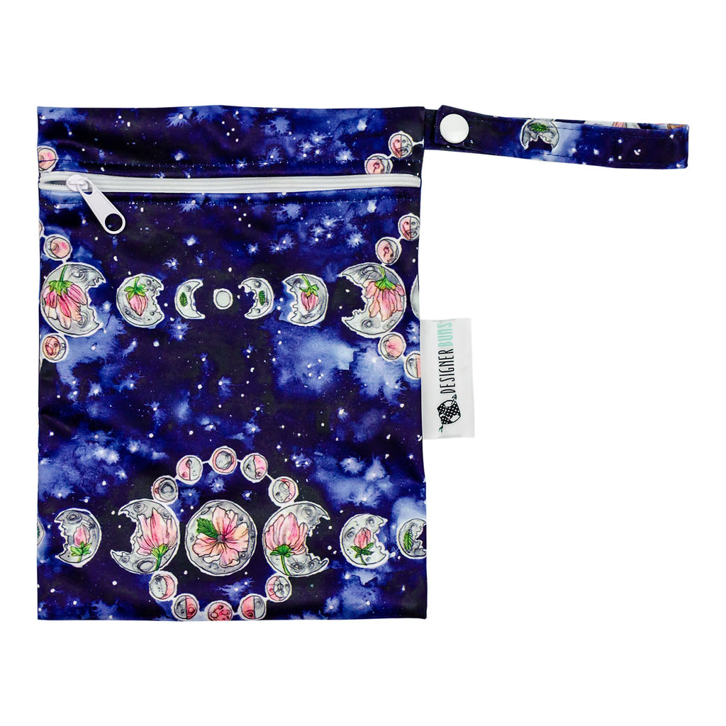 Moonflower Mini Wet Bag Nappies Designer Bums