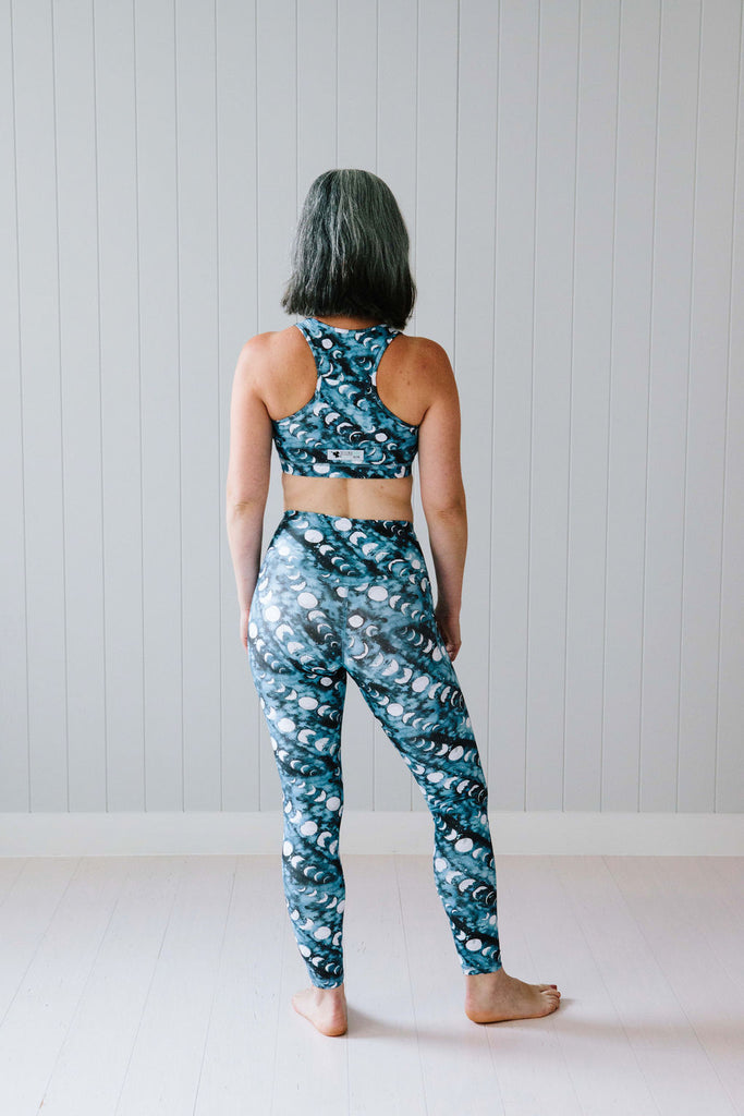 Moon Phases Leggings Nappies Designer Bums