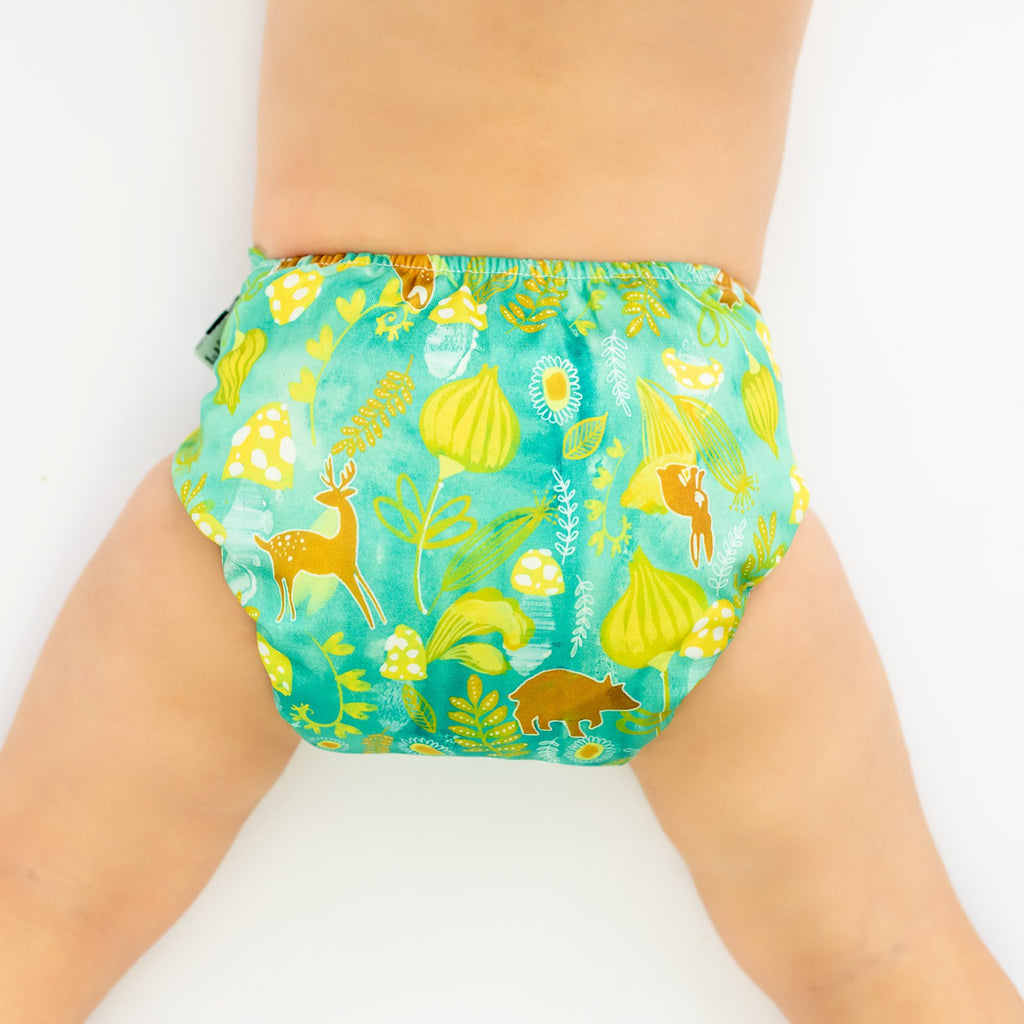 Natures Dawn Cloth Nappy Nappies Designer Bums