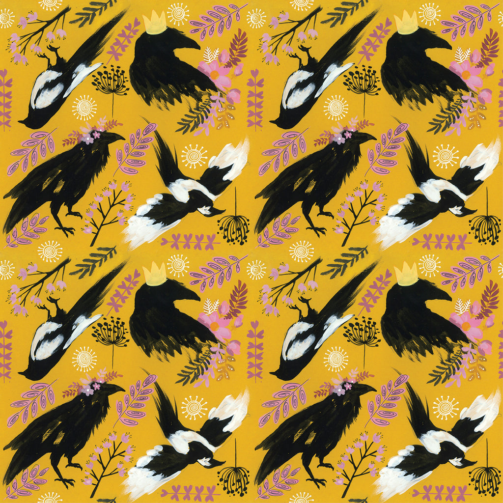 Nevermore Bib Nappies Designer Bums