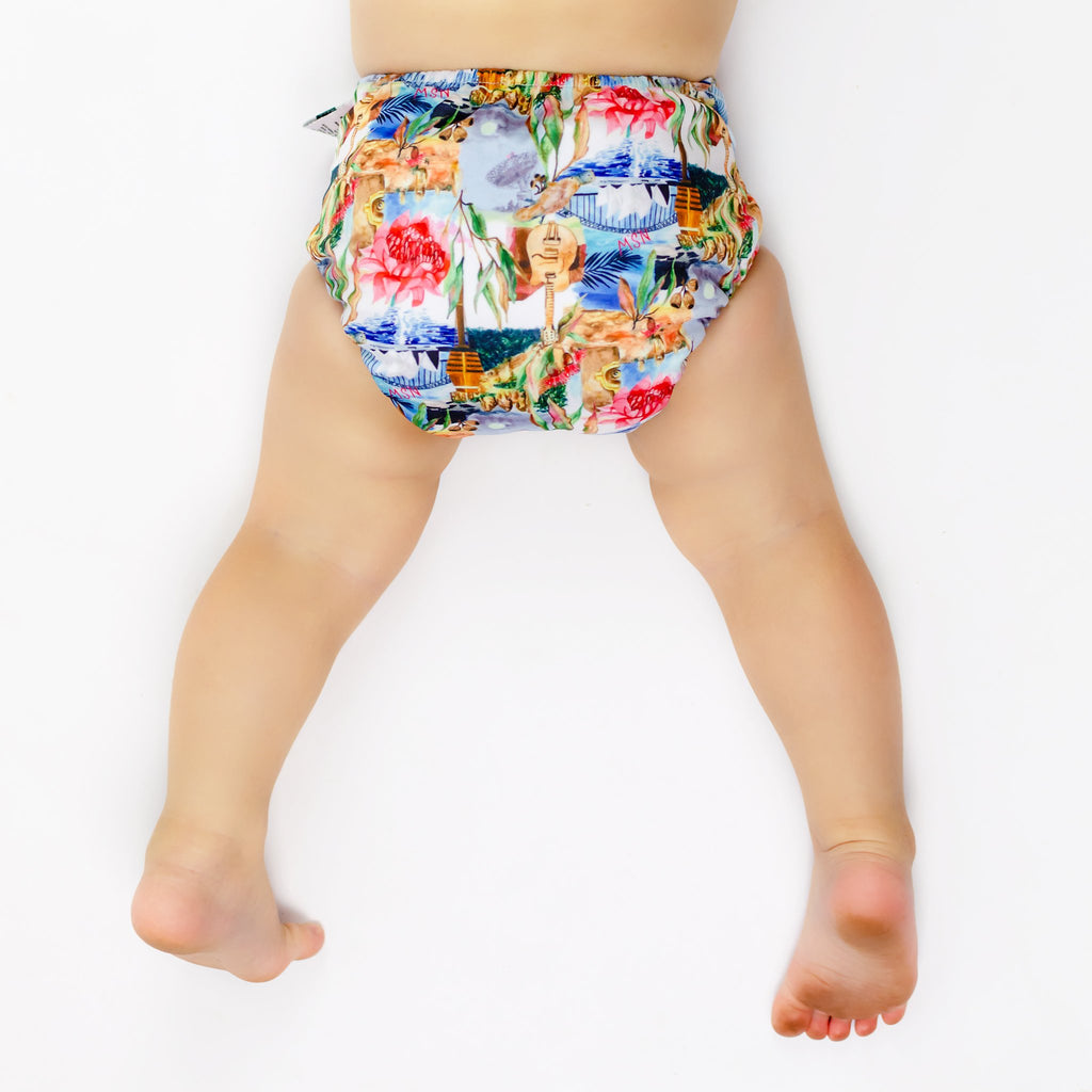 NSW Cloth Nappy - SHELL ONLY Nappies Designer Bums