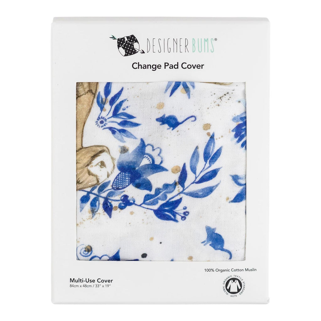 Owl Garden Change Pad Cover