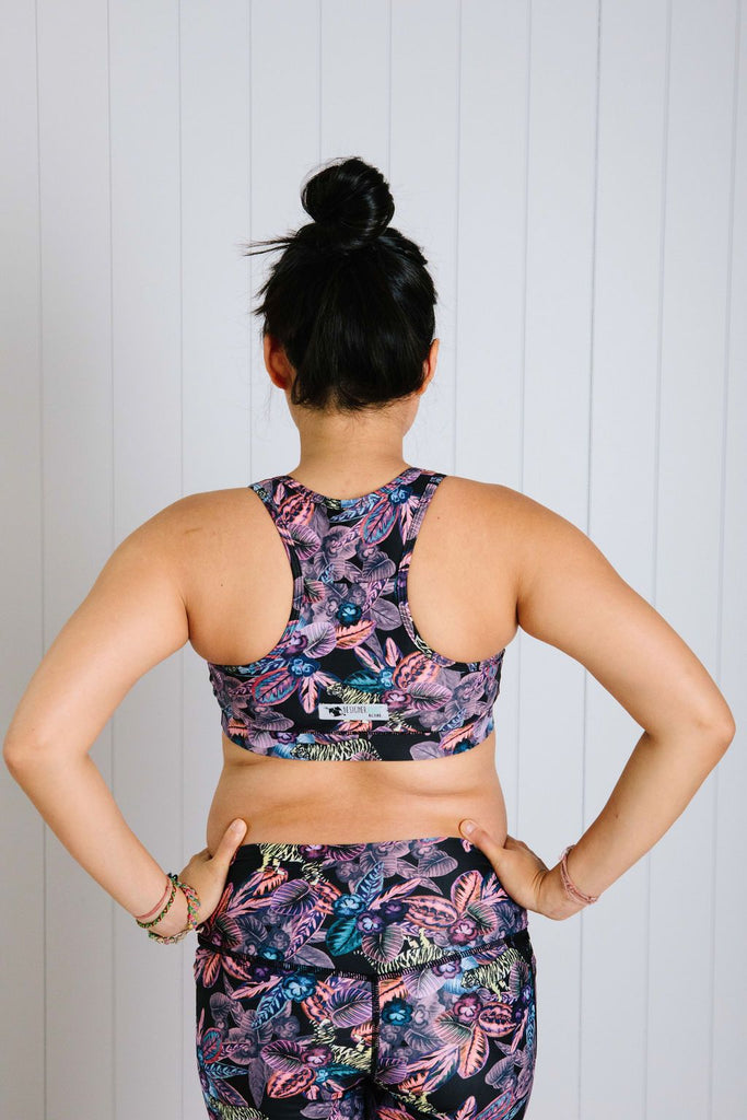 Pansy Jungle Sports Bra Nappies Designer Bums
