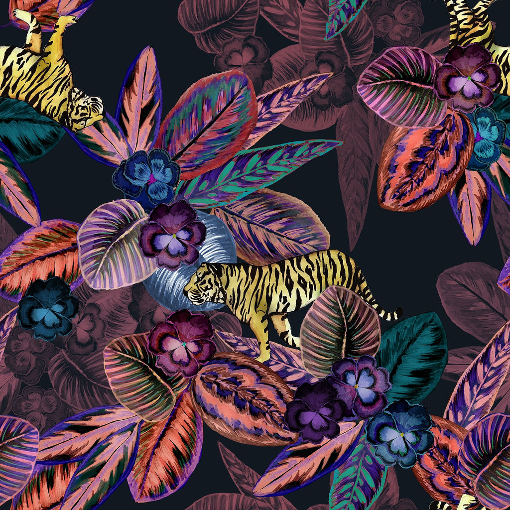 Pansy Jungle Change Mat