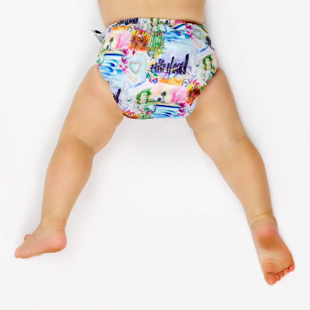 QLD Cloth Nappy Nappies Designer Bums
