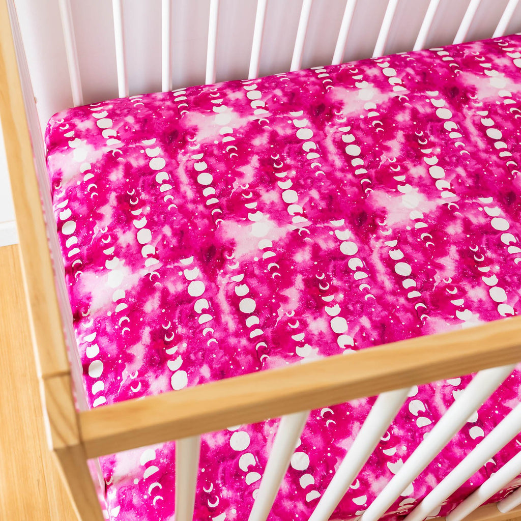 Rose Moon Cot Sheets