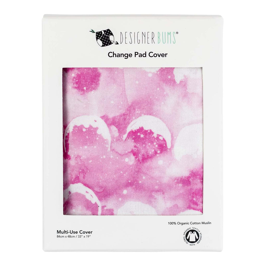 Rose Quartz Moon Change Pad Cover