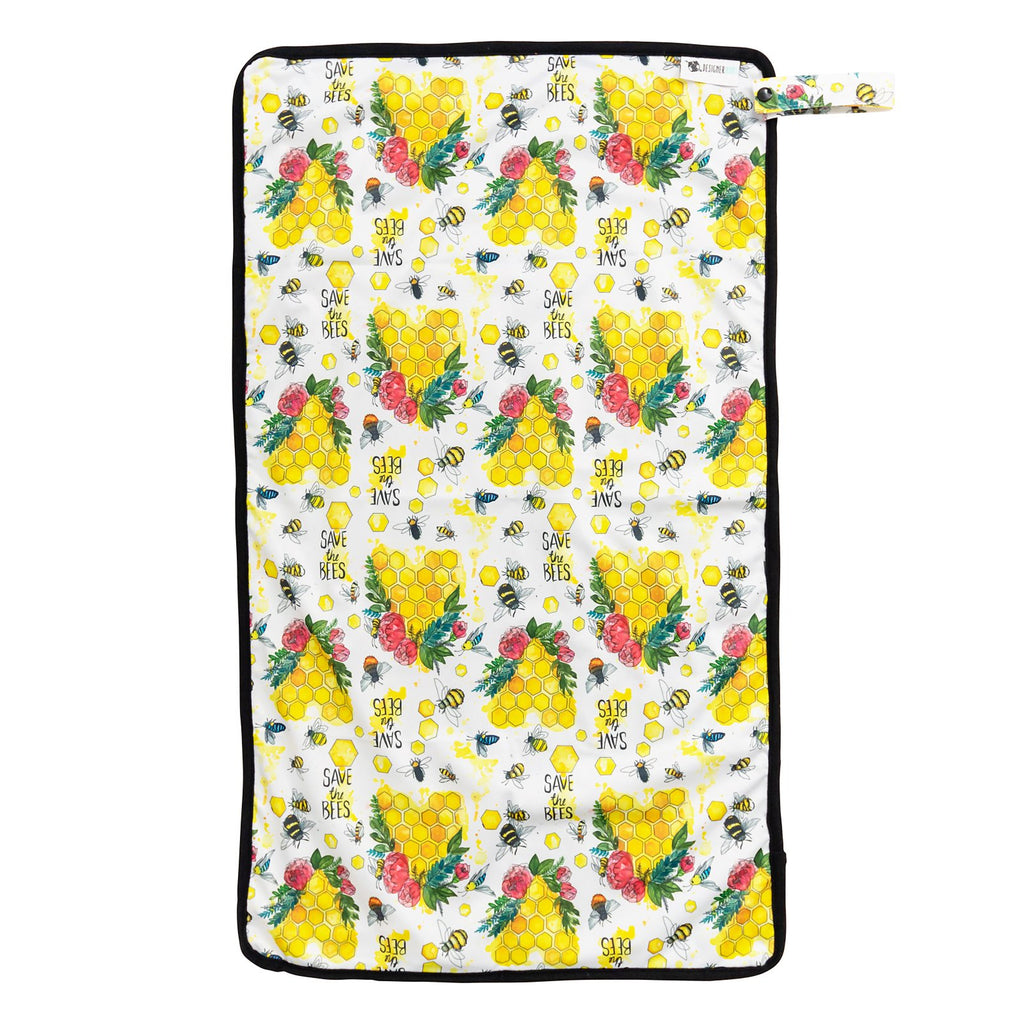 Save The Bees Change Mat