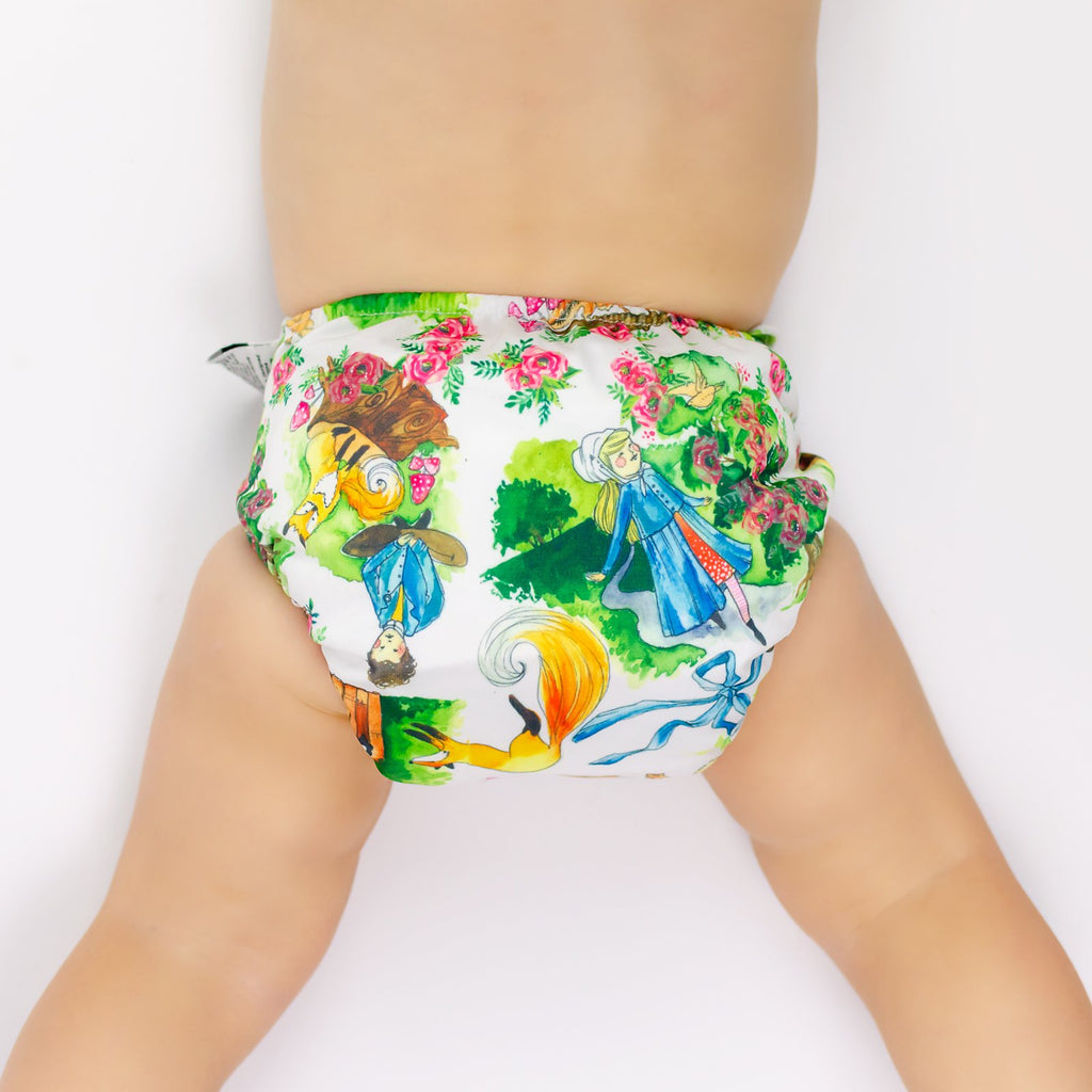 Secret Garden Cloth Nappy