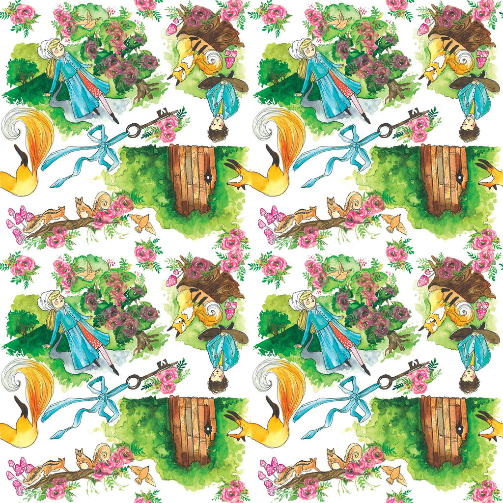 Secret Garden Change Mat